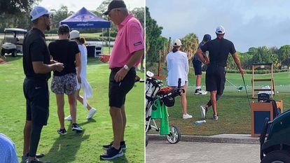 Tiger, el pasado fin de semana en Florida.