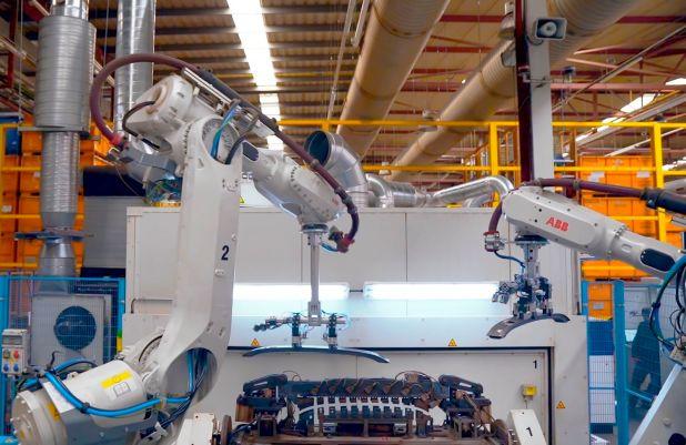 Fábrica de Gestamp en Barcelona adaptada a la tecnología 5G.
