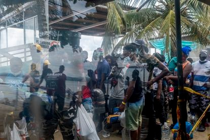 The 2018 earthquake in Haiti caused the migration of many of its inhabitants.