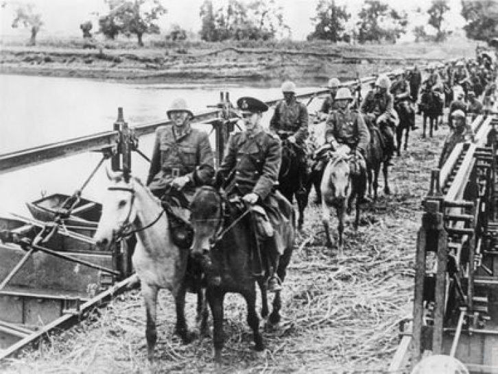 Romanian troops during the invasion of the USSR in September 1941.