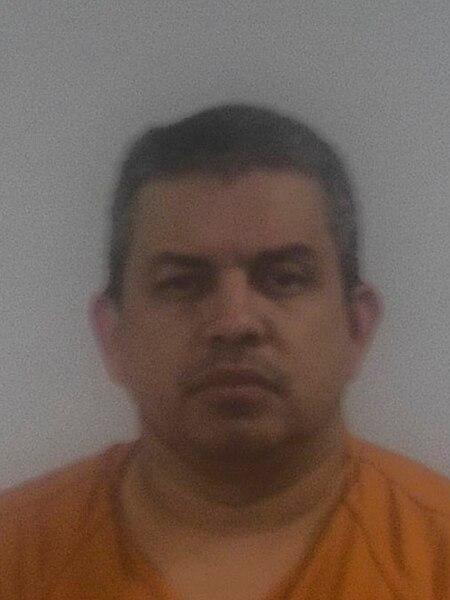 Ramiro Ramírez-Barreto, en una imagen después de su detención.