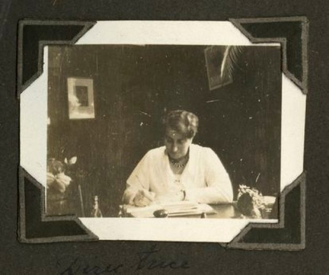 Henriette Pimentel, en la guardería.