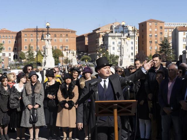 Celebracion del 90 aniversario del viaducto de Teruel. Foto Antonio Garcia/Bykofoto. 26/10/19 [[[FOTOGRAFOS]]]