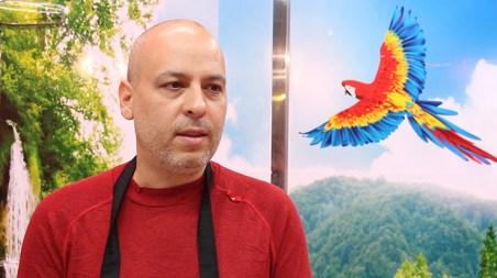 Reinaldo García, fundador de 'Nomade Grill'.
