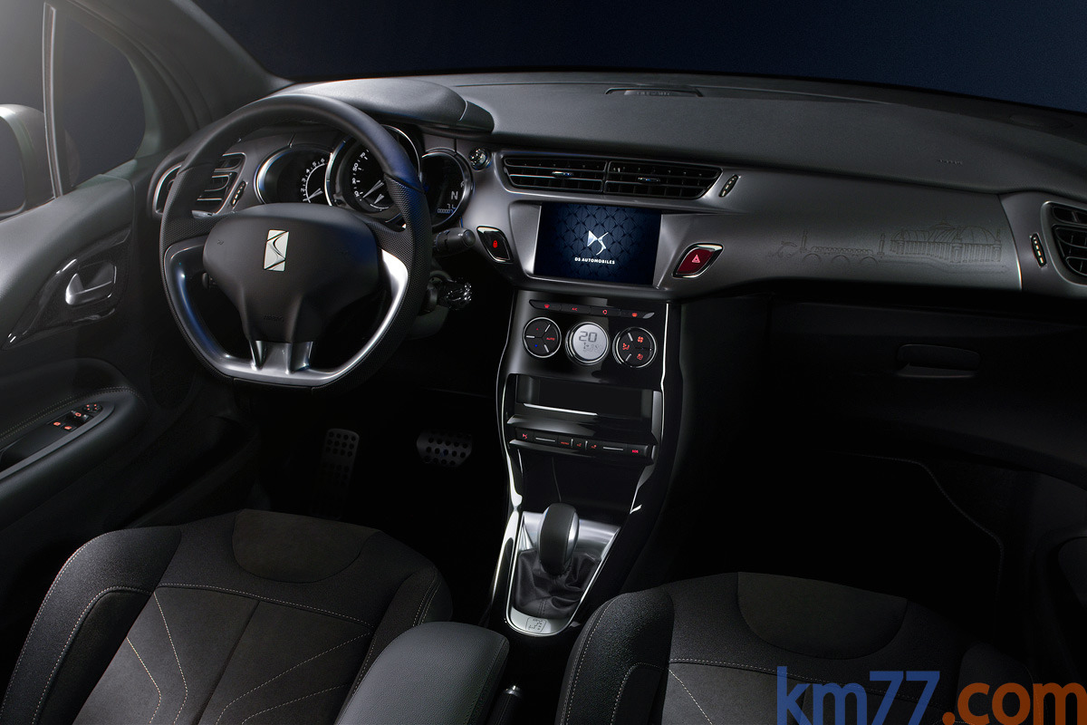 DS 3 Gama DS 3 Gama DS 3 Turismo Interior Salpicadero 3 puertas