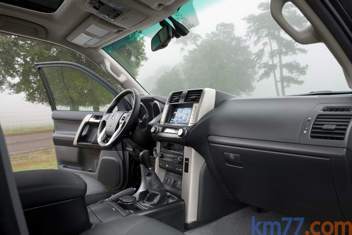 Fotos Interiores 3 puertas  Toyota Land Cruiser 3 puertas