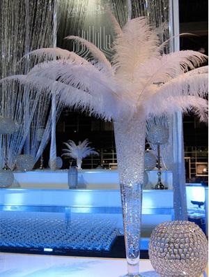 Centros de mesa con perlas de agua para bodas  Directorio