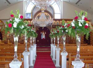 Tips para decorar pasillos de ceremonias con flores