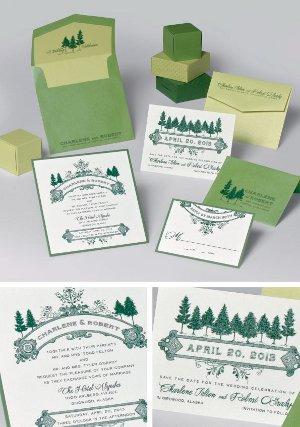 Tendencias en bodas 2013 Color Verde Esmeralda