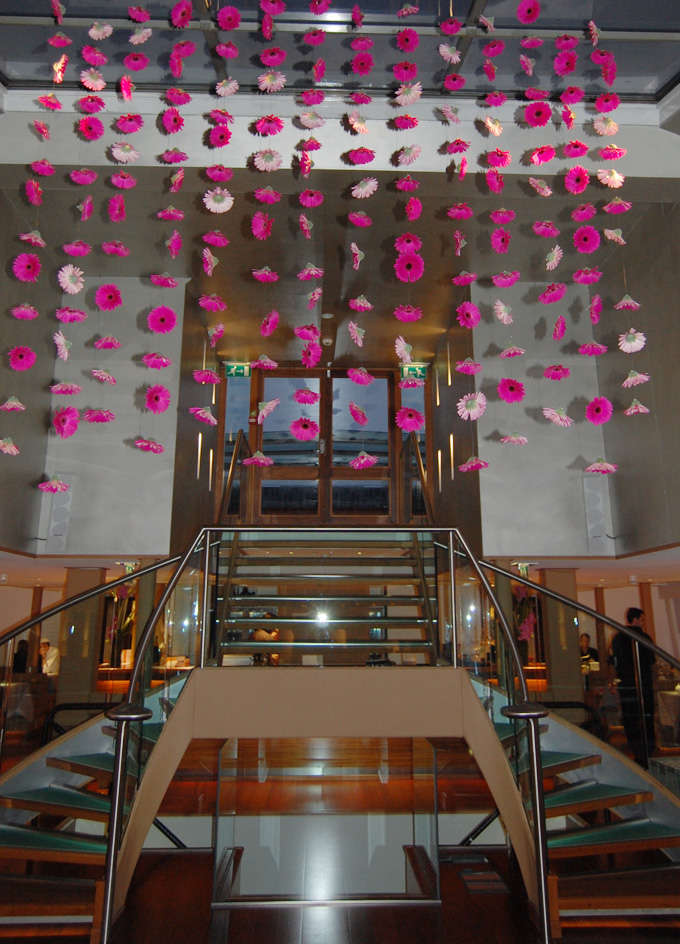 Cortinas de flores para bodas  Directorio de Bodas