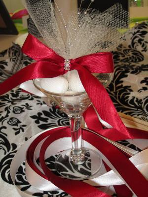 8 decoraciones con copas de Martini para bodas