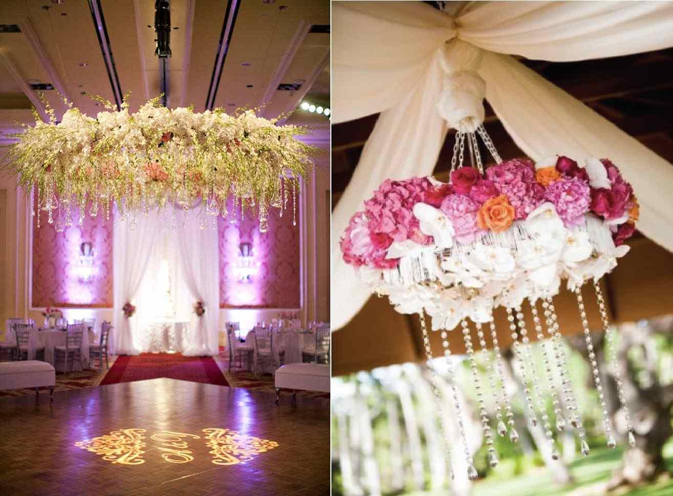 Tendencias en bodas 2015 Flores colgantes  Directorio de