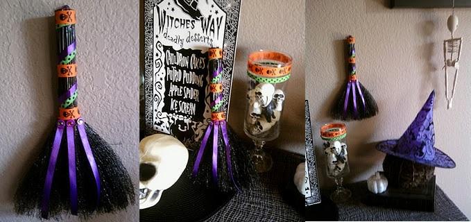 Decora con escobas en Halloween  LaCelebracioncom