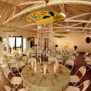 Centros de mesa con sombrillas  LaCelebracioncom
