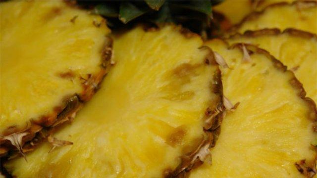 Resultado de imagen para ananá en plato