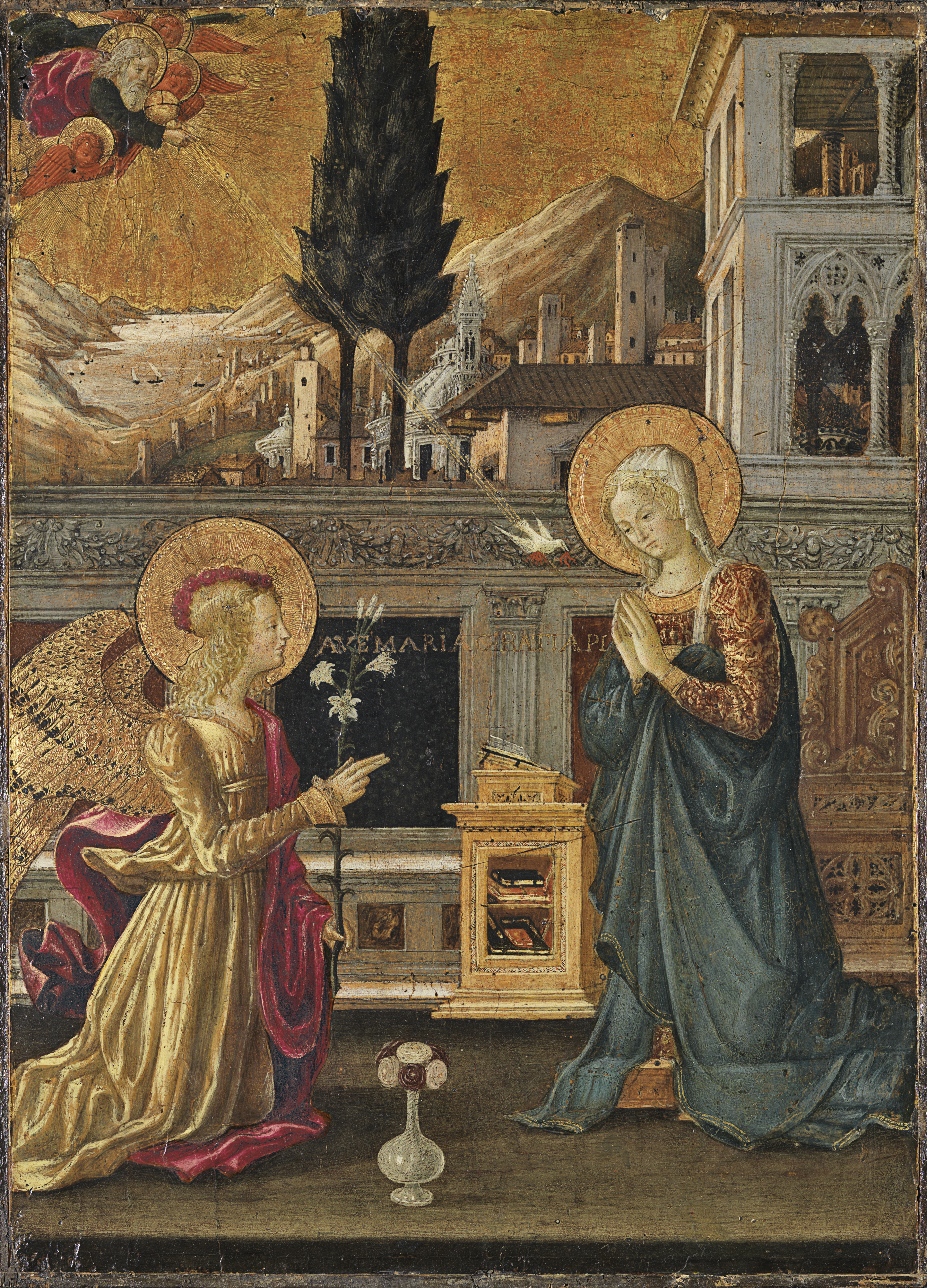 the annunciation bonfigli benedetto