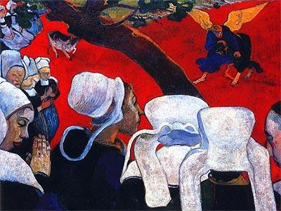 'La visión después del sermón' (1888).