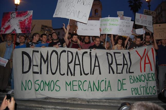 Democracia Real Ya - Italia