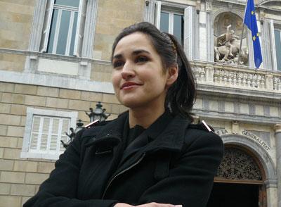 Mireya Barbeito, presidenta del PACMA (Partido Antitaurino Contra  el Maltrato Animal).