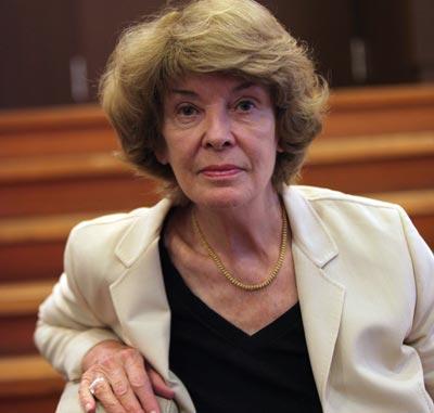 Susan George, ayer, en Madrid.Miguel García Castro