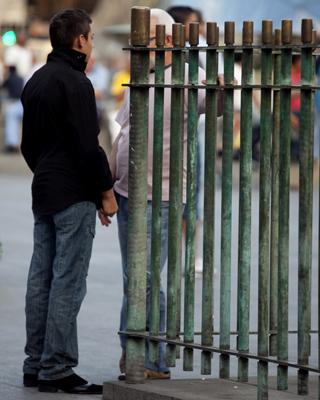Prostitución callejera masculina, en Madrid. - G. Pecot
