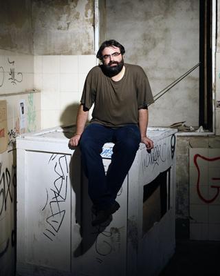 El editor Amador Fernández-Savater, ayer en Madrid. - GRACIELA DEL RÍO