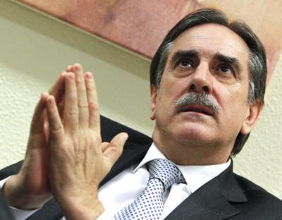 El ministro de Trabajo e Inmigración, Valeriano Gómez.