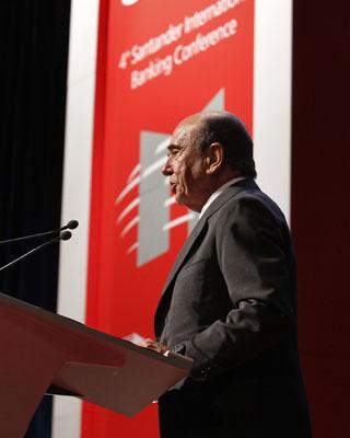 Emilio Botín. EFE