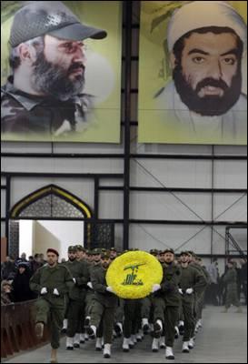 Milicianos de Hizbolá, en Líbano. bilal hussein / ap