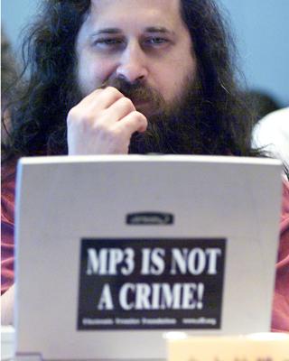 Richard Stallman, precursor del 'free software'. - REUTERS