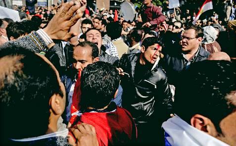 Choques en el epicentro de la revuelta. EFE/Andre Liohn