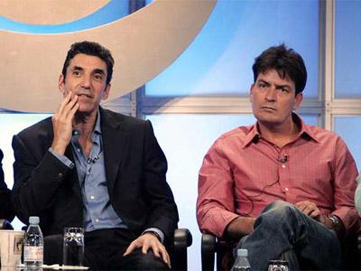 Lorre (i) y Sheen (d) en una imagen de archivo. AP