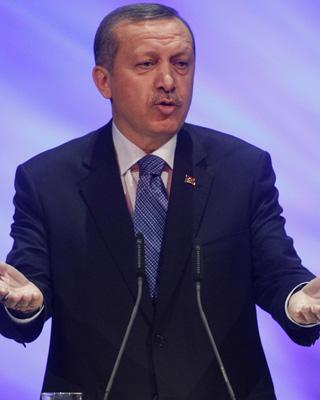 El primer ministro turco, Tayyip Erdogan. TOBIAS SCHWARZ / REUTERS