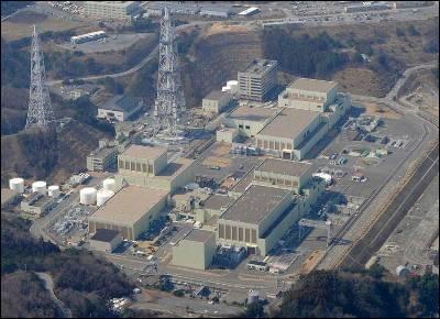 Vista de la central de Onagawa.