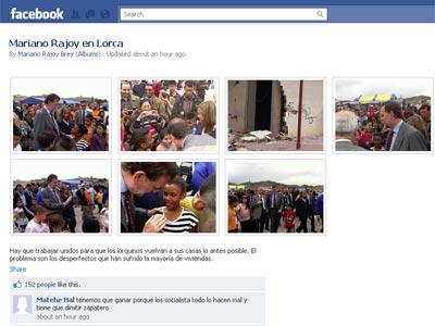 Galería de fotos que Rajoy ha colgado en Facebook.