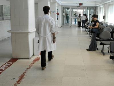 Instalaciones de las consultas externas del Hospital Gregorio Marañón.