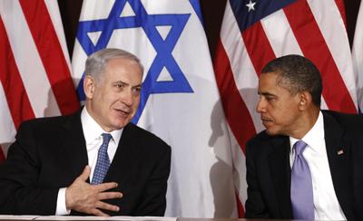 Netanyahu se reunió con Obama, satisfecho después de haber parado la iniciativa palestina en las Naciones Unidas.