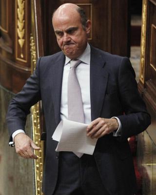 Luis de Guindos, ministro de Economía y Competitividad. Reuters