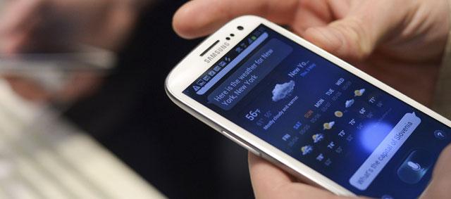 Una imagen del nuevo terminal de Samsung.- REUTERS
