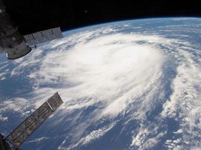Imagen de un huracan fotografiada por un satélite. HO NEW/ REUTERS