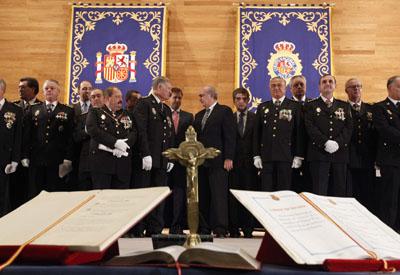 El ministro de Interior, Jorge Fernández Diaz, en el acto de entrega de títulos a nuevos comisarios, el pasado octubre.