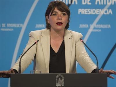 La consejera andaluza de Fomento y Vivienda, Elena Cortés. EFE