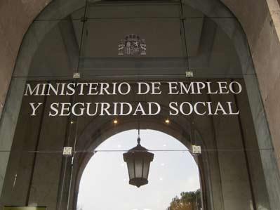 Sede del ministerio de Empleo y Seguridad Social en Madrid
