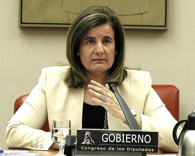 La ministra de Empleo y Seguridad Social, Fátima Báñez.FERNANDO ALVARADO / EFE