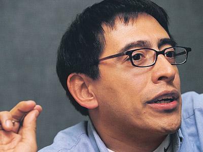 El reportero colombiano William Parra.