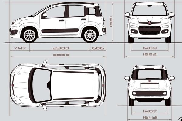 Comprar Fiat Panda Lounge 1.2 69cv Gasolina/glp
