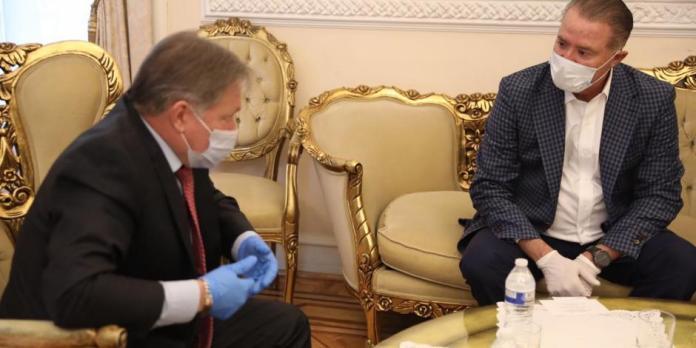 Quirino se reúne con embajador de Rusia para asegurar adquisición de vacuna  COVID