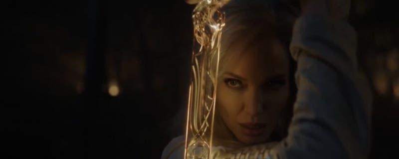 """Marvel presenta primer adelanto de """"Eternals"""" con Angelina Jolie como """"Thena"""""""