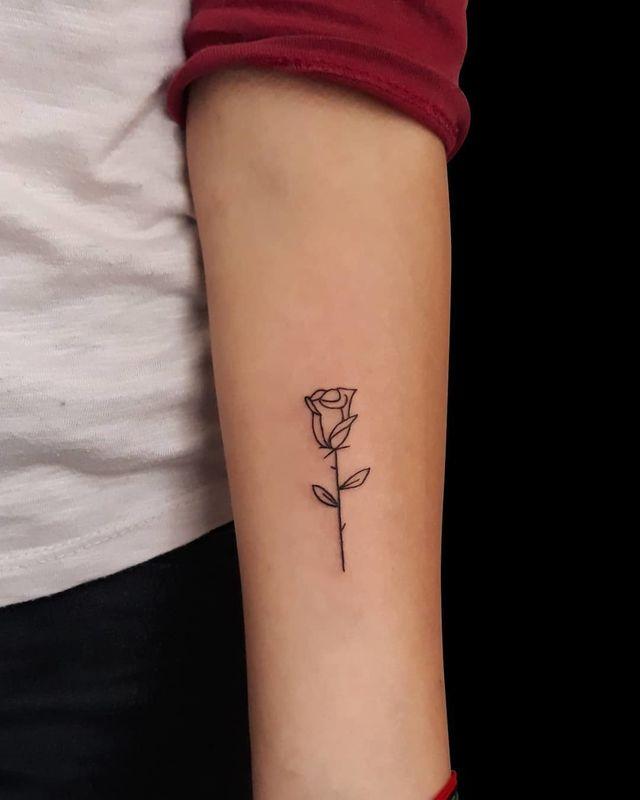Mejores 49 Fotos De Tatuajes De Rosas 2019