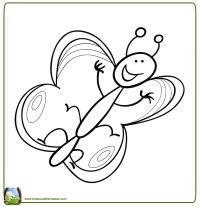 Dibujos Para Colorear Mariposas Infantiles Mariposas Para